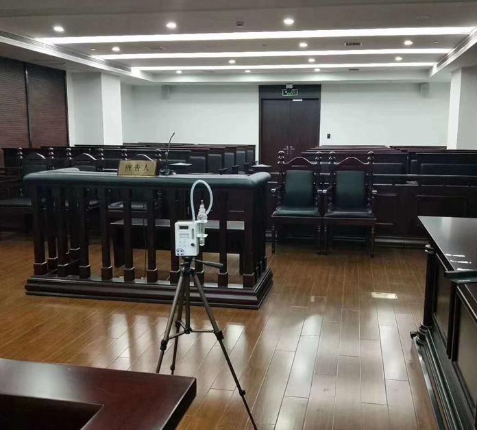 重庆某法院甲醛检测与治理